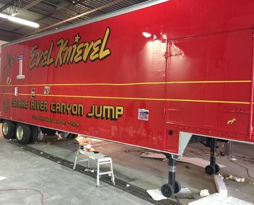 Evel Knievel Rig Restoration
